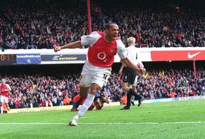 legends/ex players henry thierry/henry 2nd goal 6 040409afc