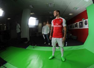 Jack Wilshere (Arsenal). Arsenal 1st Team Photcall and Training Session. Emirates Stadium