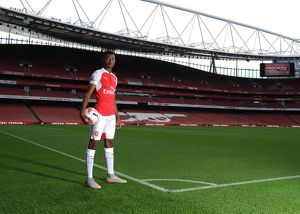 Jeff Reine-Adalaide (Arsenal). Arsenal 1st Team Photcall and Training Session. Emirates