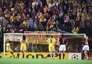 jens lehmann arsenal saves riquelmes penalty