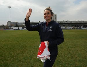 arsenal women/arsenal ladies v notts county ladies 3rd/jodie taylor arsenal ladies introduced