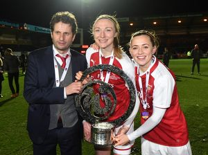 arsenal women/v manchester city ladies/joe montemurro manager louise quinn katie
