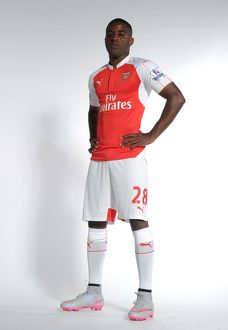 team/arsenal 1st team photocall 2015 16/joel campbell arsenal arsenal training ground