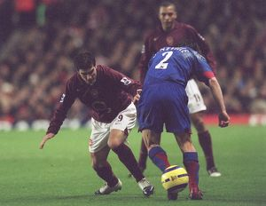 previous season matches/matches 2005 06 arsenal v manchester united 2005 6/jose reyes arsenal gary neville man utd