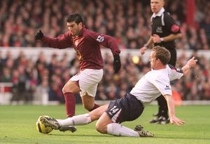previous season matches/matches 2005 06 arsenal v bolton 2005 6/jose reyes arsenal kevin davies bolton arsenal 0