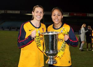 kellt smith and alex scott arsenal with