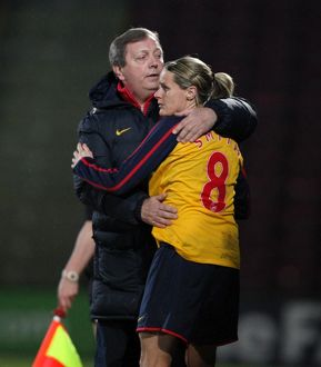 arsenal women/arsenal ladies v doncaster rovers belles/kelly smith
