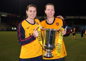 kelly smith and jayne ludlow arsenal with