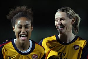kelly smith and rachel yankey arsenal