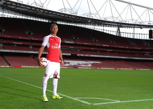 Kieran Gibbs (Arsenal). Arsenal 1st Team Photcall and Training Session. Emirates Stadium