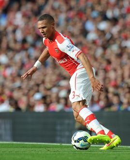 season 2014 15/arsenal v crystal palace 2014 15/kieran gibbs arsenal arsenal 21 crystal palace