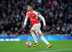 season 2015 16/arsenal v burnley fa cup 4th rd 2016/kieran gibbs arsenal arsenal 21 burnley