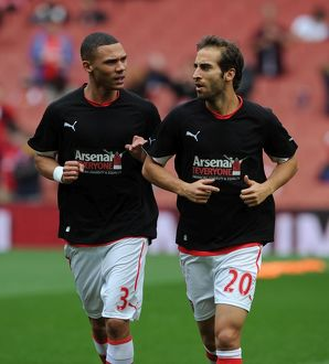 kieran gibbs and mathieu flamini arsenal