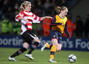 kim little arsenal natasha hughes doncaster