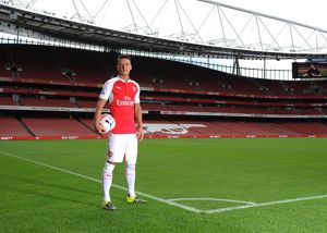 Mesut Ozil (Arsenal). Arsenal 1st Team Photcall and Training Session. Emirates Stadium