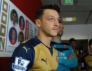 Mesut Ozil (Arsenal). Arsenal 1st Team Photocall and Training Session. Emirates Stadium