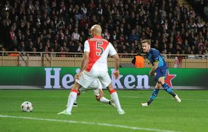 as monaco v arsenal uefa champions league