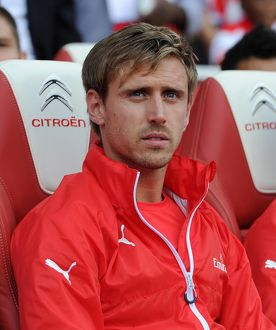 season 2014 15/arsenal v crystal palace 2014 15/nacho monreal arsenal arsenal 21 crystal palace