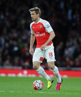season 2015 16/arsenal v west bromwich albion 2015 16/nacho monreal arsenal arsenal 20 west bromwich albion