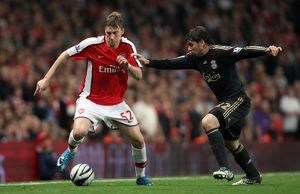 nicklas bendtner arsenal emiliano insua