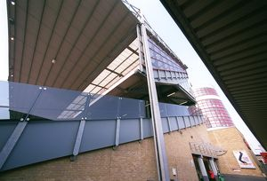 The North Bank. Arsenal Stadium, Highbury, London, 25/3/2003