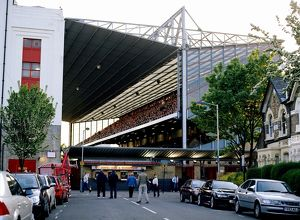 North Bank stand during the match. Arsenal 7:0 Everton. Barclays Premiership