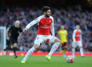 season 2015 16/arsenal v burnley fa cup 4th rd 2016/olivier giroud arsenal arsenal 21 burnley