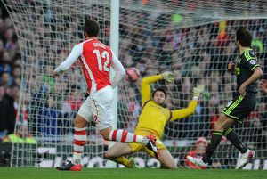 season 2014 15/arsenal v middlesbrough fa cup 2014 15/olivier giroud scores arsenals 2nd goal arsenal 2
