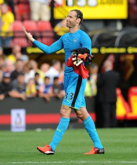 season 2016 17/watford v arsenal 2016 17/petr cech arsenal watford 13 arsenal