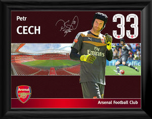 special editions/petr cech framed player profile