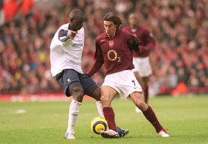 previous season matches/matches 2005 06 arsenal v bolton 2005 6/robert pires arsenal abdoulaye faye bolton