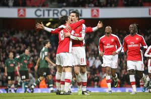 team/players coaches van persie robin/robin van persie celebrates scoring scoring 1st
