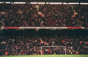 fans/rocastle trust banners north bank arsenal 41 fulham