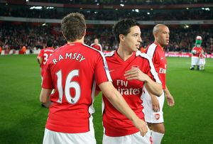 samir nasri and aaron ramsey arsenal
