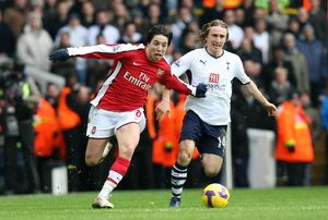 team/players coaches nasri samir/samir nasri arsenal luka modric tottenham