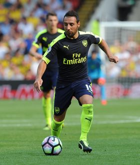 season 2016 17/watford v arsenal 2016 17/santi cazorla arsenal watford 13 arsenal