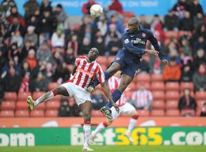 previous season matches/matches 2009 10 stoke city v arsenal fa cup 2009 10/sol campbell arsenal mamady sidibe stoke