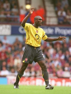 legends/ex players campbell sol/sol campbell arsenal west ham united 0