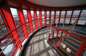highbury stadium/stairs north bank arsenal stadium highbury london