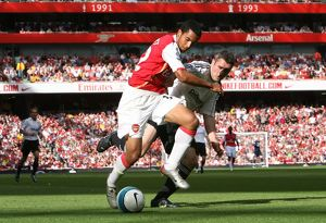 Theo Walcott (Arsenal) Andy Griffin (Derby)