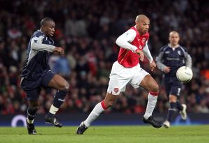 Thierry Henry (Arsenal) Abdoulaye Meite (Bolton)