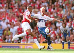 thierry henry arsenal andrew davies