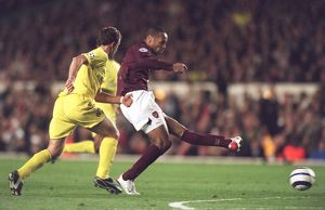 thierry henry arsenal arruabarrena villarreal