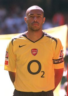 Thierry Henry (Arsenal). Arsenal 1:2 Chelsea. FA Community Shield