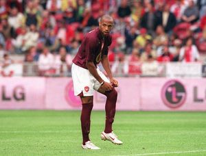 Thierry Henry (Arsenal). Arsenal 2:1 Porto. The Amsterdam Tournament