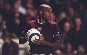 Thierry Henry (Arsenal). Arsenal 4:1 Fulham. FA Premier League