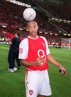 Thierry Henry (Arsenal) after the day. Arsenal 1:0 Southampton. The F