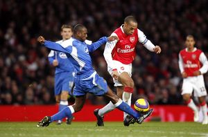 Thierry Henry (Arsenal) Emerson Boyce (Wigan)