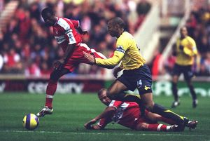 Thierry Henry (Arsenal) George Boateng and Lee Cattermole (Middlesbrough) Middlesbrough 1