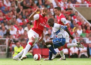 Thierry Henry (Arsenal) George Boateng (M'Boro)